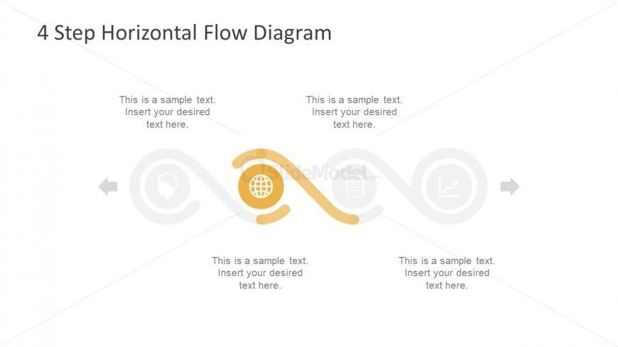 Process Flow Business Diagram Slide