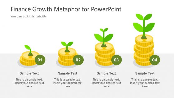 Growth PowerPoint of Business and Finances