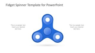 Slide of Spinner Toy Clipart