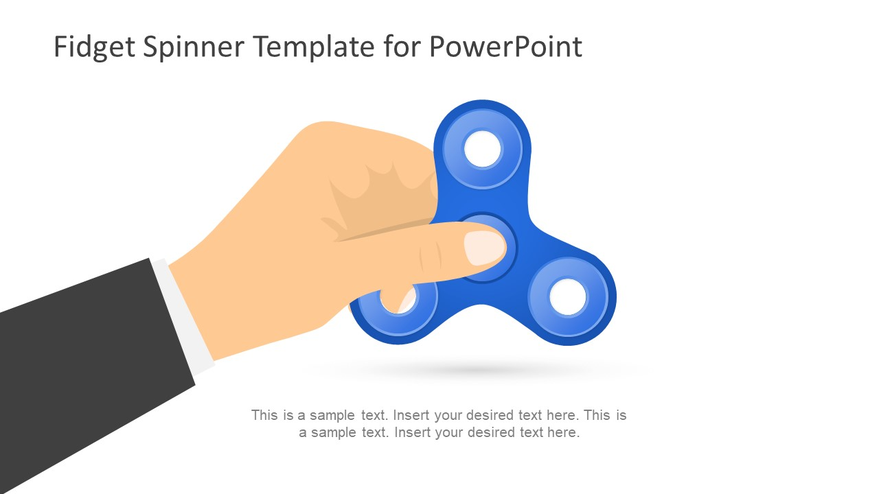 Fidget Spinner PowerPoint Template