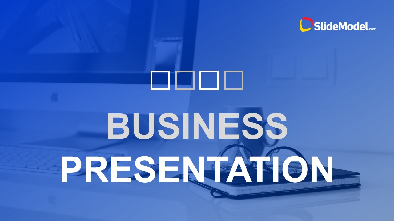 clean business presentation template for powerpoint slidemodel