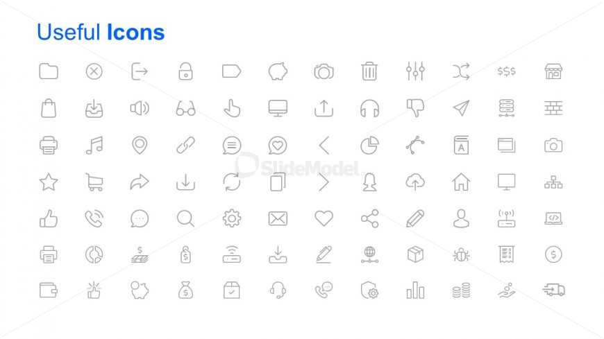 creative collection of powerpoint icons