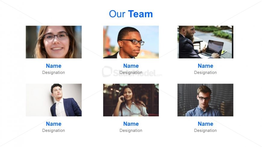 Template of Project Team Introduction