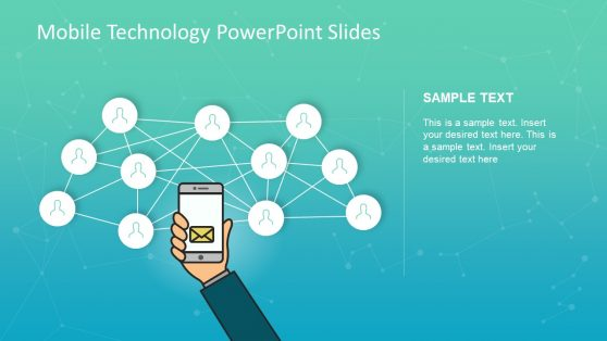 Slide of Mobile Technology PowerPoint