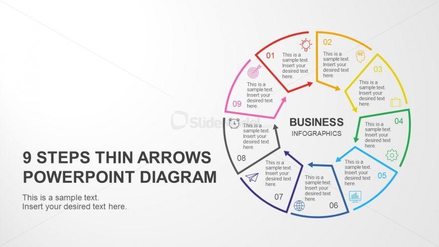 Main Slider Design for 9 Step Diagram