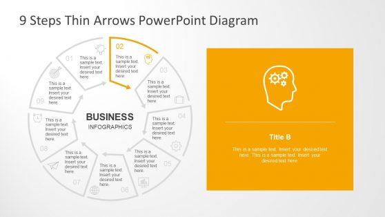Creative Infographic Presentation of Circular Diagram