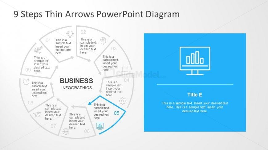Business Analysis Segment Infographic Icons