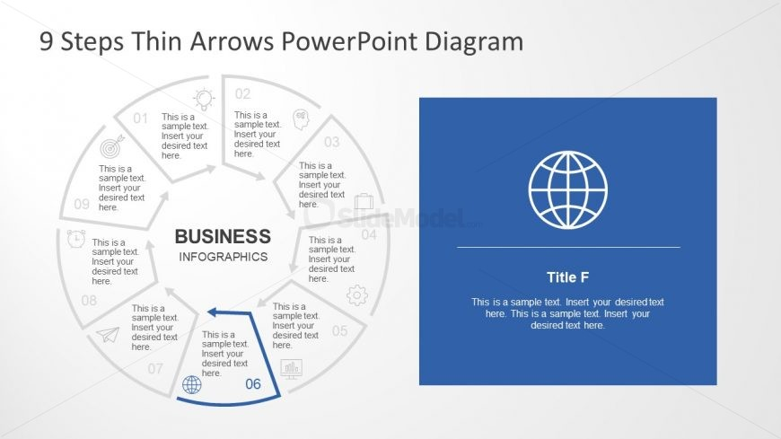 Global Design Infographic Icons in PowerPoint
