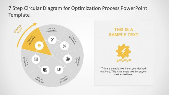 Process Flow Optimization PowerPoint Diagram