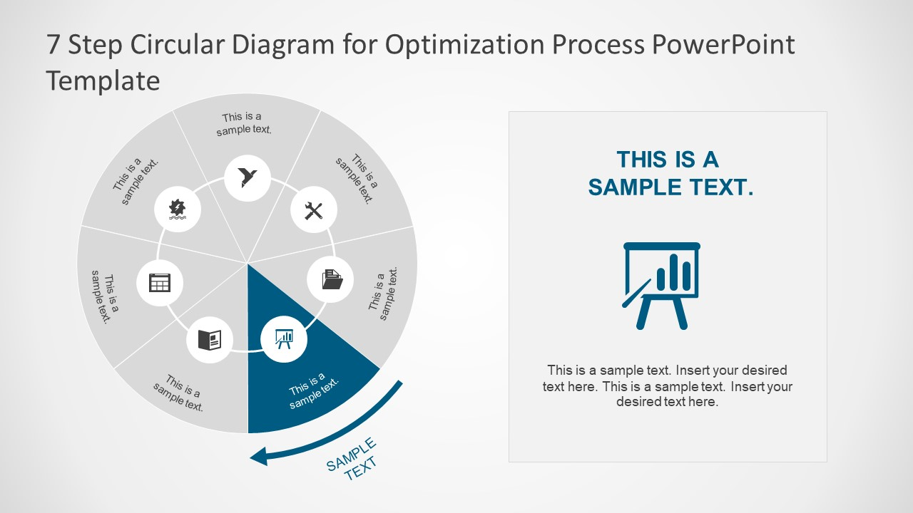 Optimization Process PowerPoint Template
