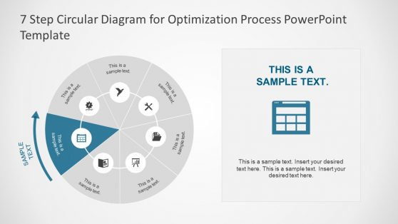 Slide of Process Optimization Diagram