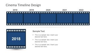 Cinematographic Clipart Horizontal Template Reel