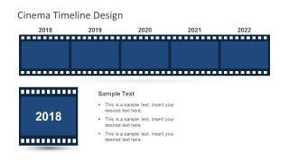 Cinematographic Clipart Horizontal Template Reel