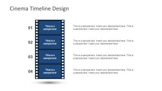 Vector Flat Design Cinema PPT