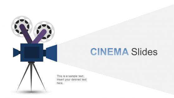 PPT Cinema Video Camera Illustration