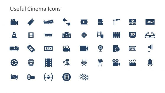Slide of Useful Infographics Cinema