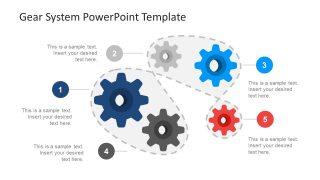 Template of Continuous Process Flow Diagram
