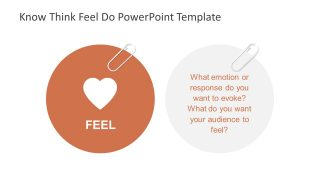 Heart Symbol for Feel in PowerPoint