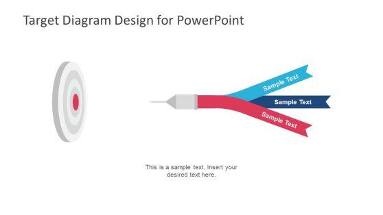 Goals Target Diagram Presentation
