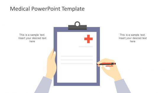 Medical Report PowerPoint Slide