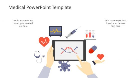 Infographic PowerPoint of Medical Shapes