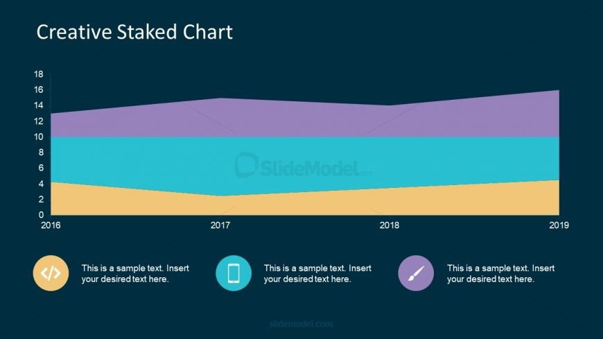 Colorful Stacked Chart Presentation