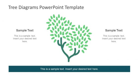 Green Tree PowerPoint Slide