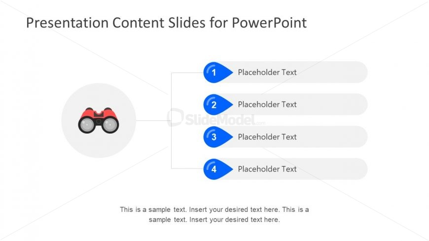 3 Segments Placeholder Layout