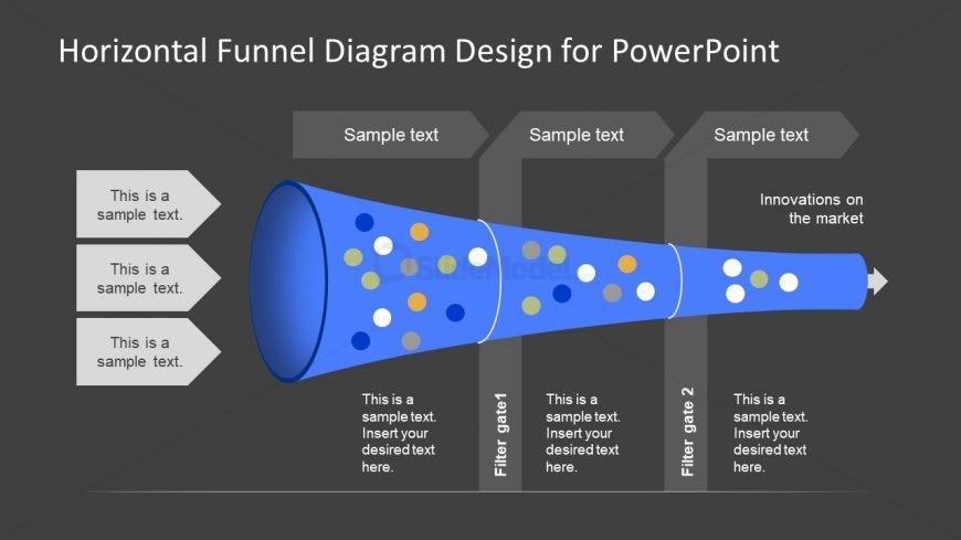 PPT Funnel Diagram Infographic Design