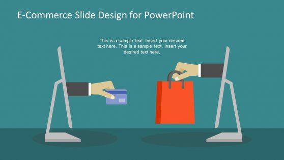 PPT Slide of E-Commerce Shopping