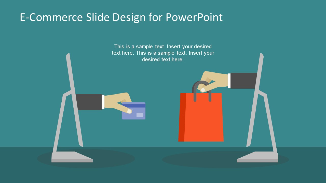 Online Shopping Template Presentation