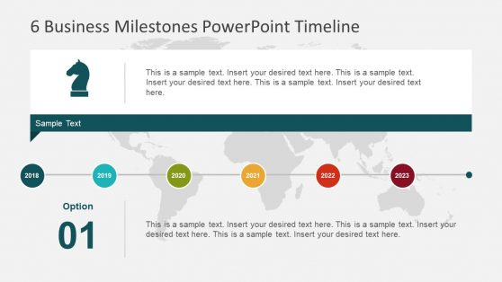 Infographic PowerPoint Timeline Segments