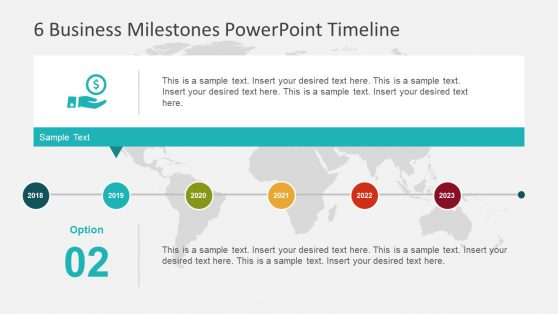 Business Milestone PowerPoint Infographic