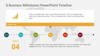 PowerPoint Graph Template Timeline