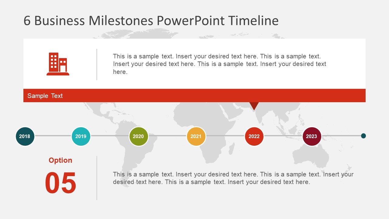 Business Template for Timeline