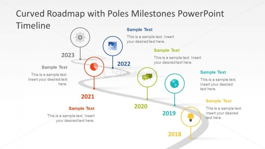Infographic Timeline Presentation Slide