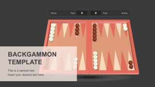 Backgammon PowerPoint Template