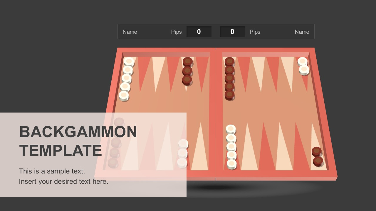 Backgammon PowerPoint Templates