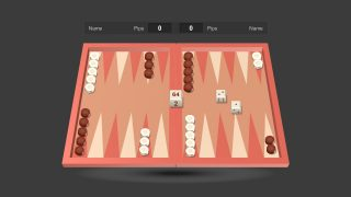 Editable Backgammon Board Game Slides