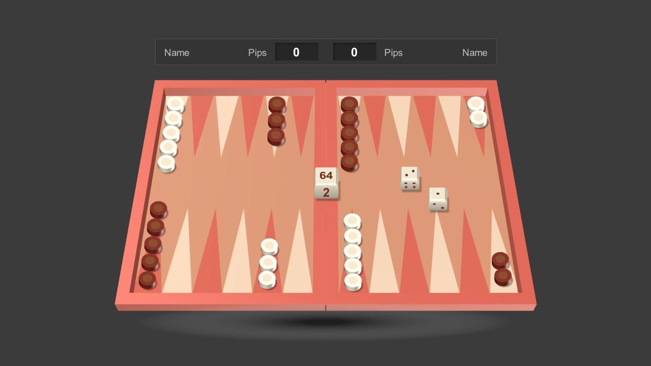 Backgammon Powerpoint Template