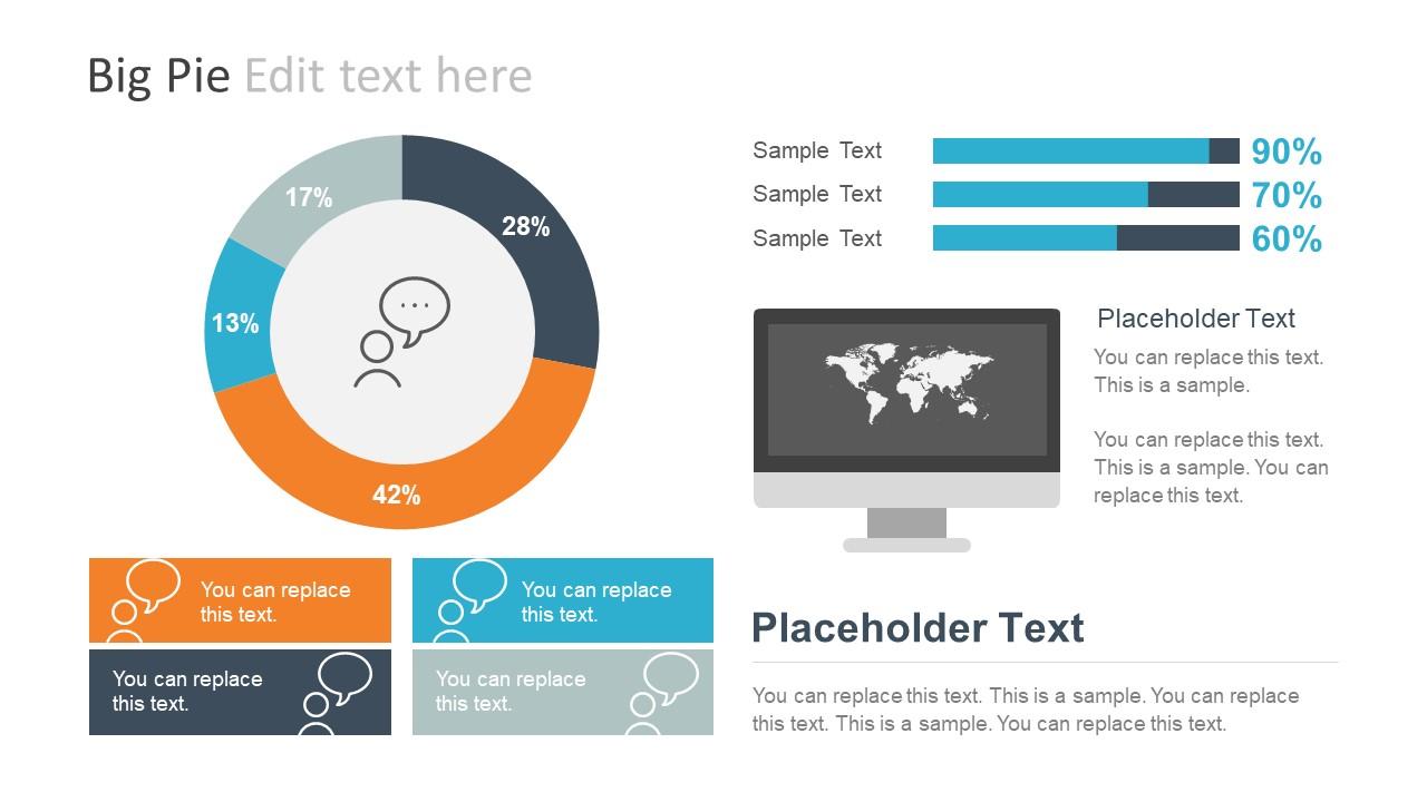 Professional Report Infographics Powerpoint Template Slidemodel