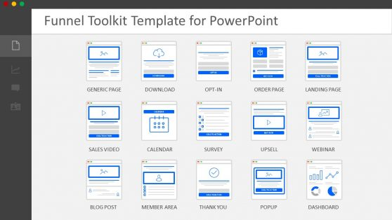 Slides of Funnel Designer Toolkit