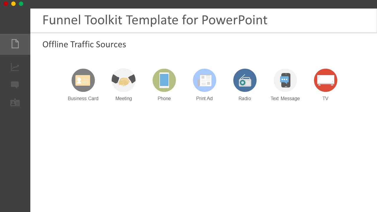 Funnel Designer Toolkit Powerpoint Template Slidemodel