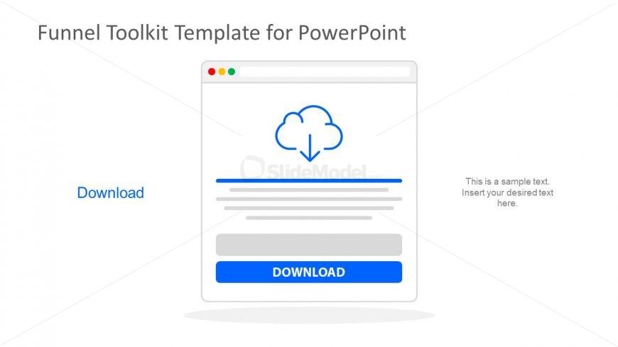 Cloud Download PowerPoint Document
