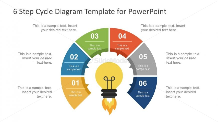 8 Step PowerPoint Diagram