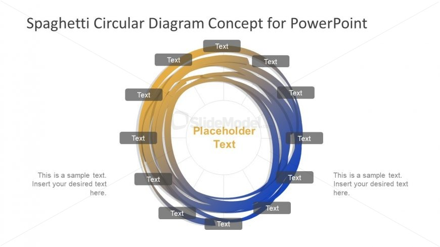 12 Steps Diagram Presentation