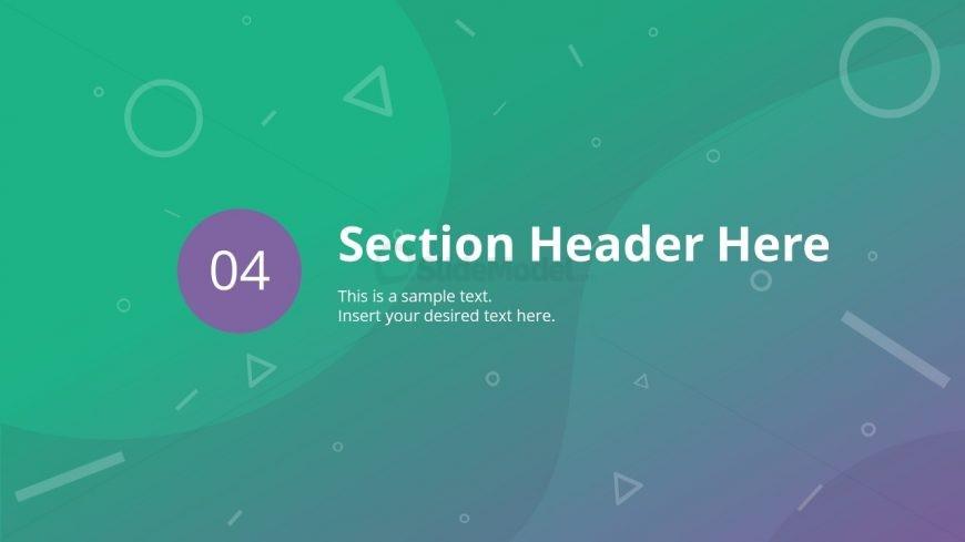 Slide Separator for Business PowerPoint