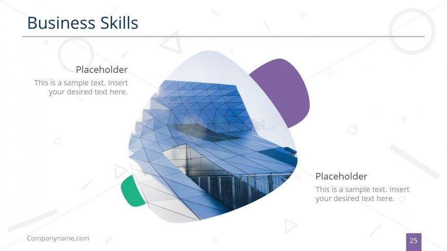 Business Skills Display Slide