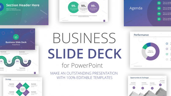 pitch deck templates for powerpoint