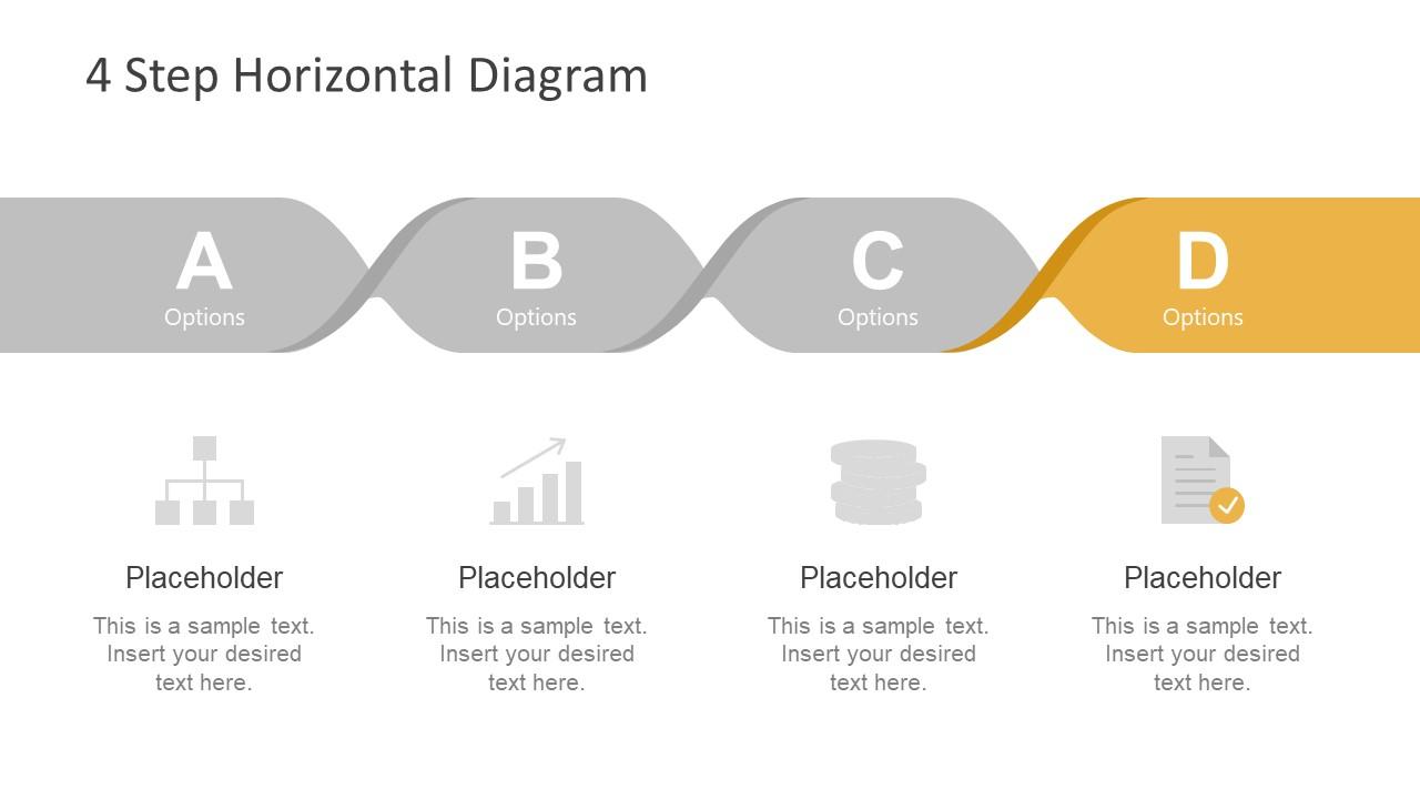 Paper Twist Design of Horizontal Diagram